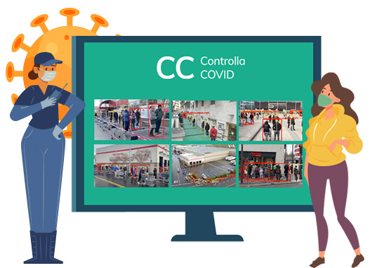 Software controlla Covid